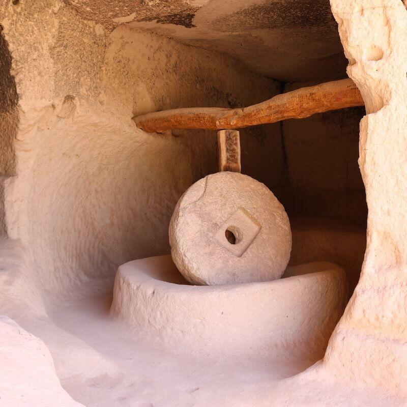 Zelve open air museum in Cappadocia