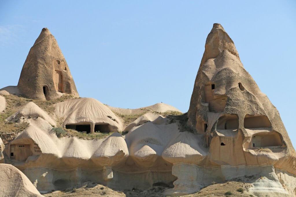 Places to visit in Cappadocia. Cappadocia fairy chimneys