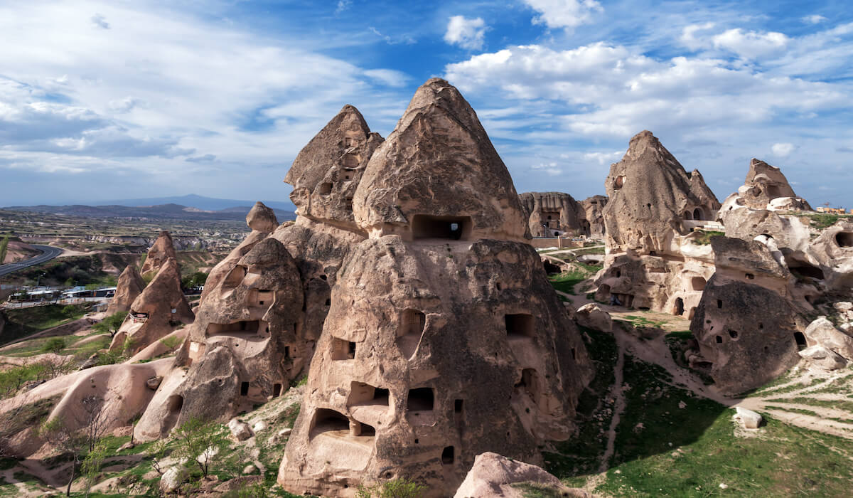 Fairy chimney valley Cappadocia