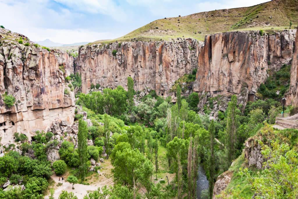 Places to visit in Cappadocia. Ihlara Valley in Cappadocia
