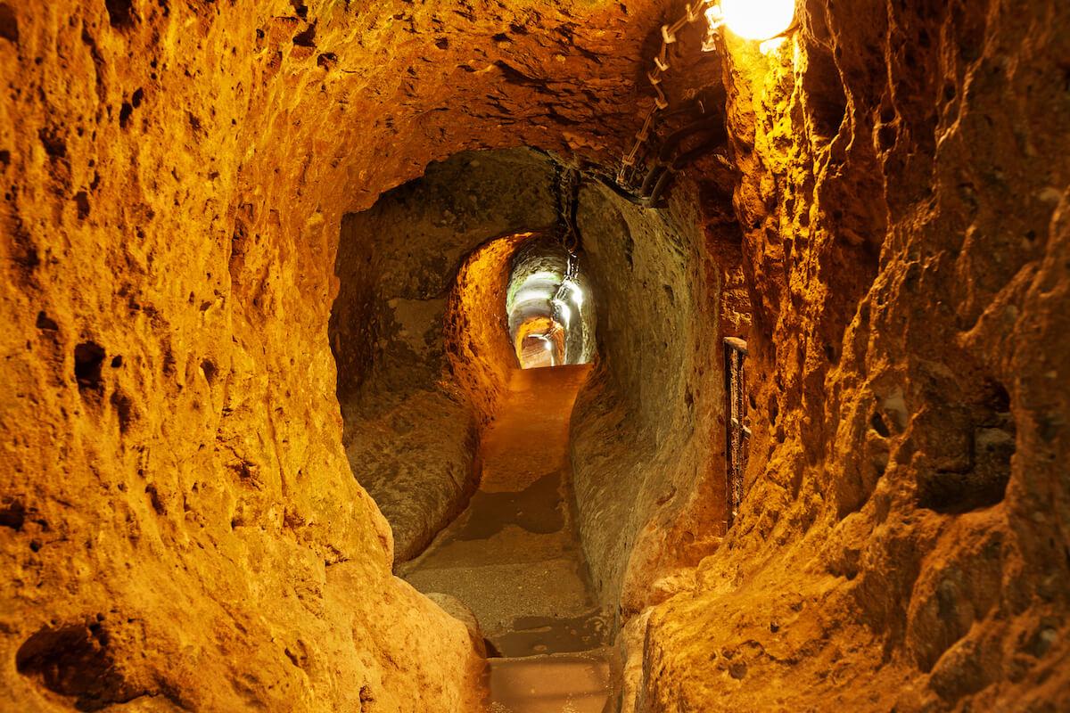 Derinkuyu underground cities of Cappadocia